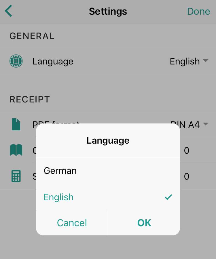 Can I change the language?