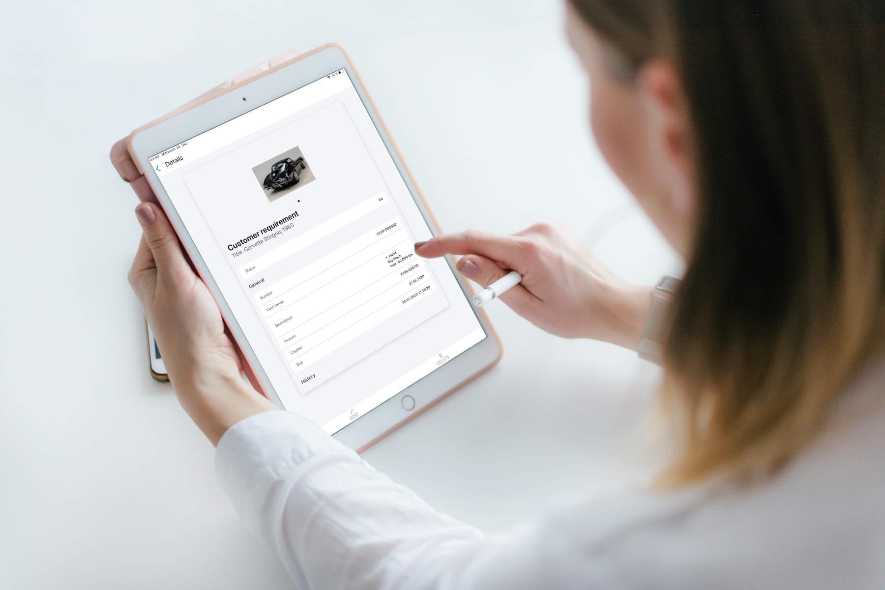 Thumbify verwaltet die Wünsche deiner Kunden