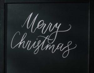 Frohe Festtage und ein gesundes neues Jahr