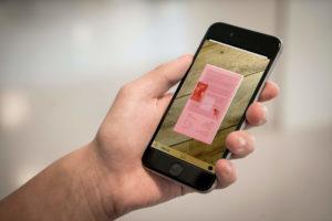 Dokumente mit Thumbify scannen